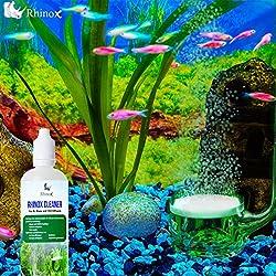 Rhinox Cleaner: Unclog CO2 Diffusers & Air Stones: Quick & simple solution to remove algae, debris, waste and calcium deposits.