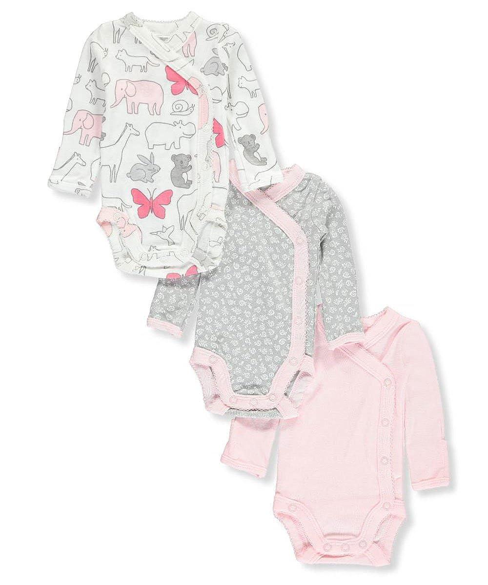 Carter's Baby Girls' 3-Pack Long-Sleeved Bodysuits Carter' s