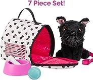 "Adora Amazing Pets ""Sadie the Black Schnauzer"" – 18"" Doll Accessory includes 4.5"