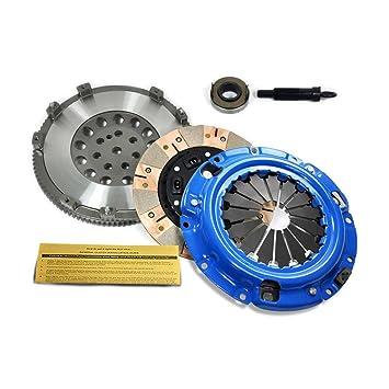 EFT dual-friction Kit de embrague + Volante 92 - 99 Eclipse Talon Laser Turbo AWD 7 perno: Amazon.es: Coche y moto