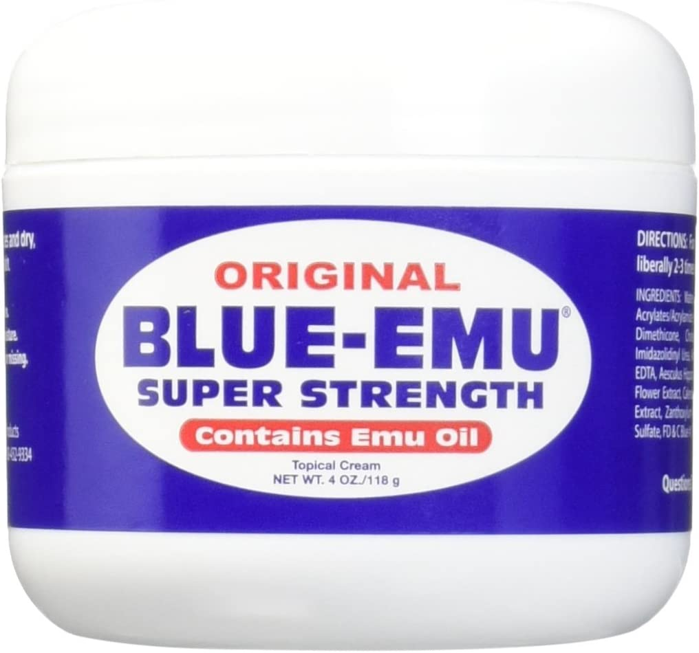 Blue-Emu Super Strength Emu Oil, 4 Oz