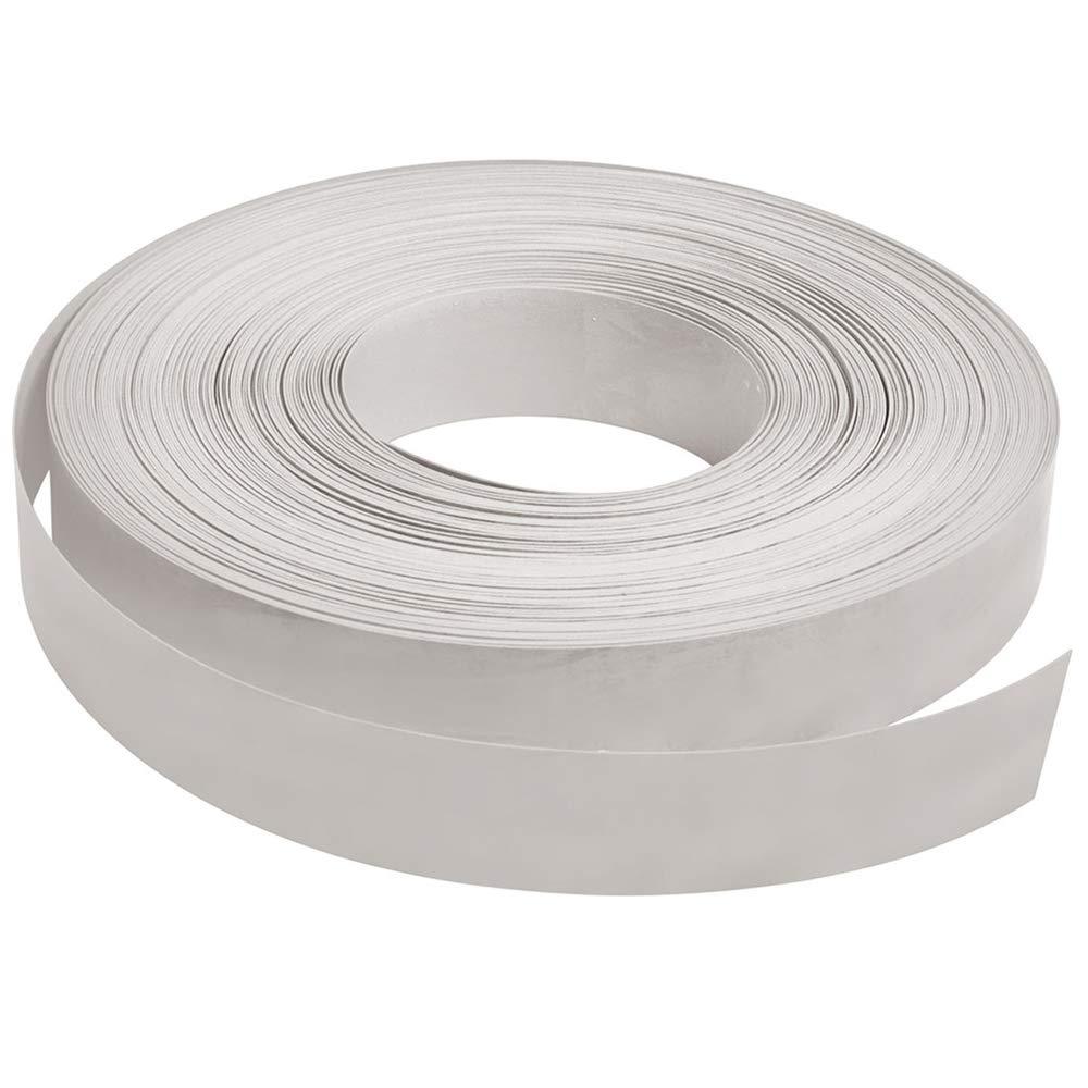 White Vinyl Insert for Slatwall (130'L Roll)