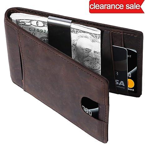 c06a312431 Portafoglio Uomo di Classe in Pelle Nera di Qualità con Protezione RFID/NFC  8 Tasche