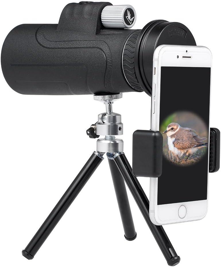 Lixada 10X50 BT Photography Monocular Telescope with Smartphone ...