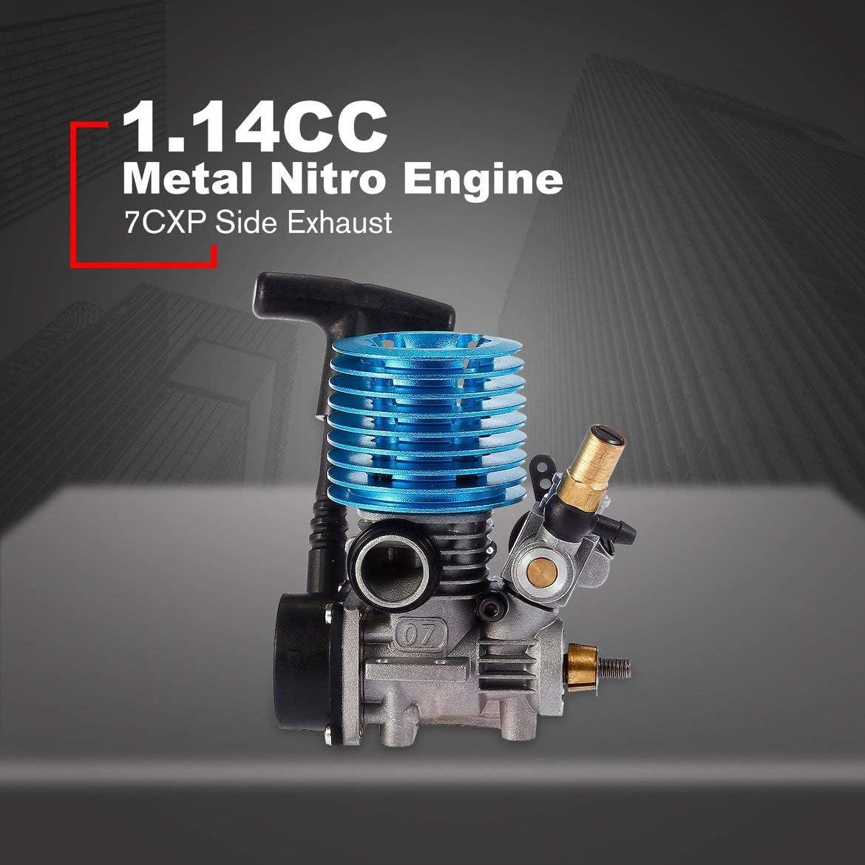 ghdonat.com Pandamama 1.14Cc 7Cxp Side Exhaust Metal Nitro Engine ...