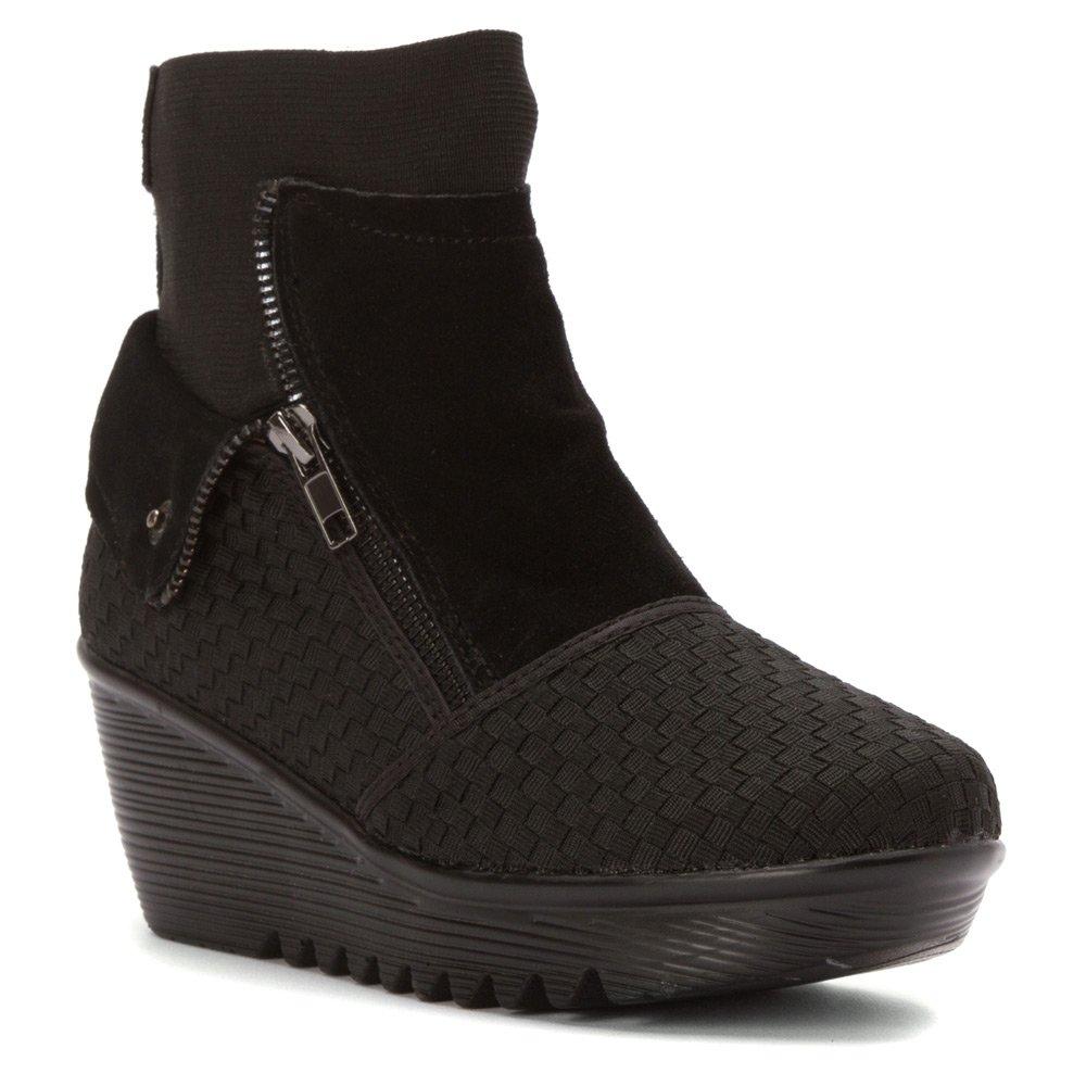 Bernie Mev Women's Venti Boots B014A038ZY 40 M US Women|Black