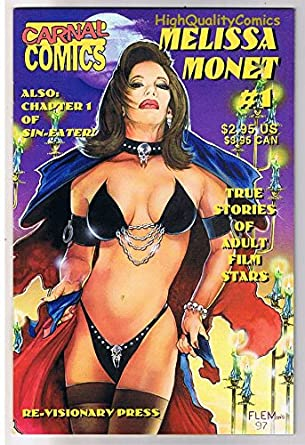 Amazon Com Carnal Comics Melissa Monet 1porn Star1997 Vfn Nm Entertainment Collectibles