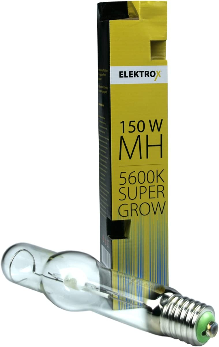 Elektrox 150W Metallhalogendampflampe MH Metal Halide Super Grow