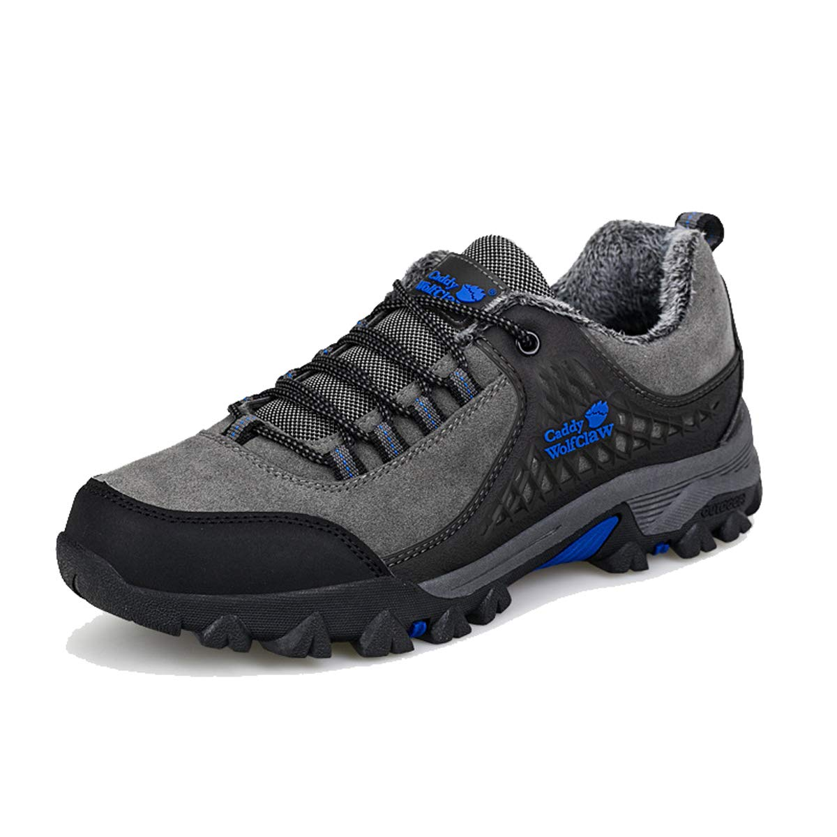 Adong  Herren Wanderschuhe Bergsteigen Stiefel Niedrig-top Schuhe Wasser-Schuhe Non Slip at-Sauer-Outdoor-Schuhe,B,43EU
