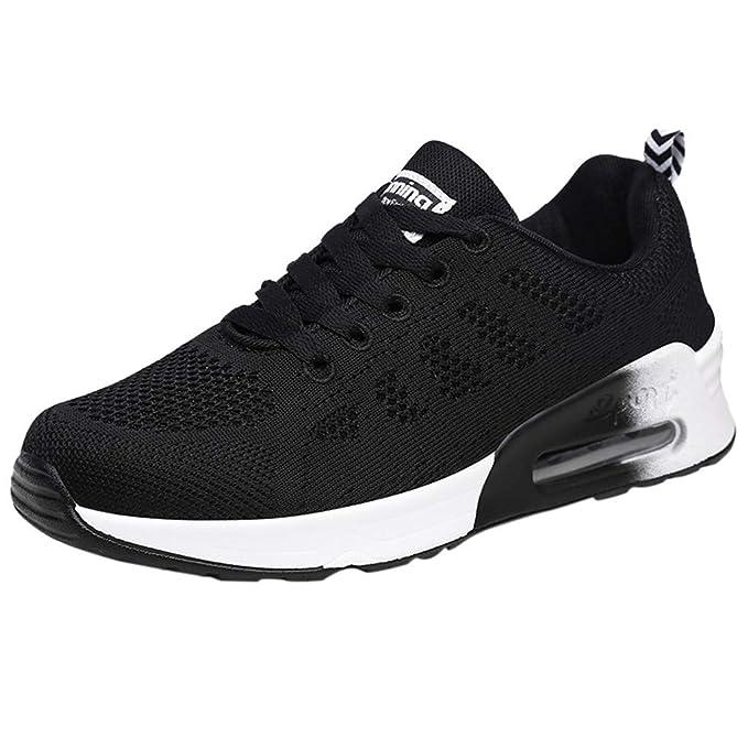 Calzado Deportivo Mujer ❤️Absolute Zapatillas de Deporte de Malla Tejida voladora para Mujer Zapatillas de