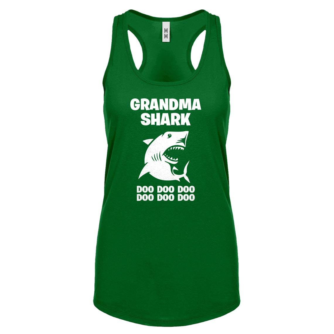 Indica Plateau Womens Grandma Shark Racerback Tank Top 3758-R