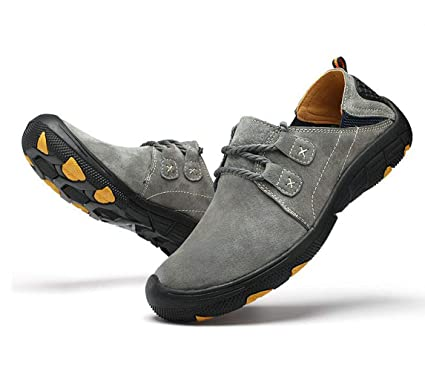 af48aabad3bd7 Amazon.com: FGSJEJ Men's Hiking Shoes Outdoor On Foot Travel Shoes ...