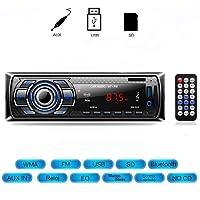 Szradia Radio de Coche, Autoradio Bluetooth Control Remoto