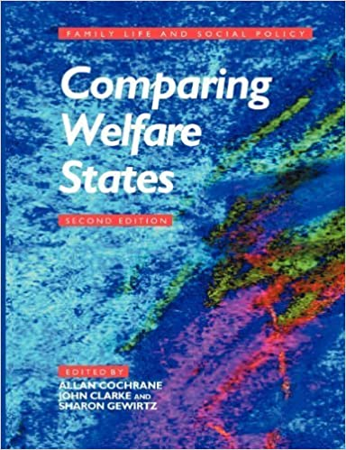 Comparing Welfare States (Published in association with The Open University) (2001-07-23)