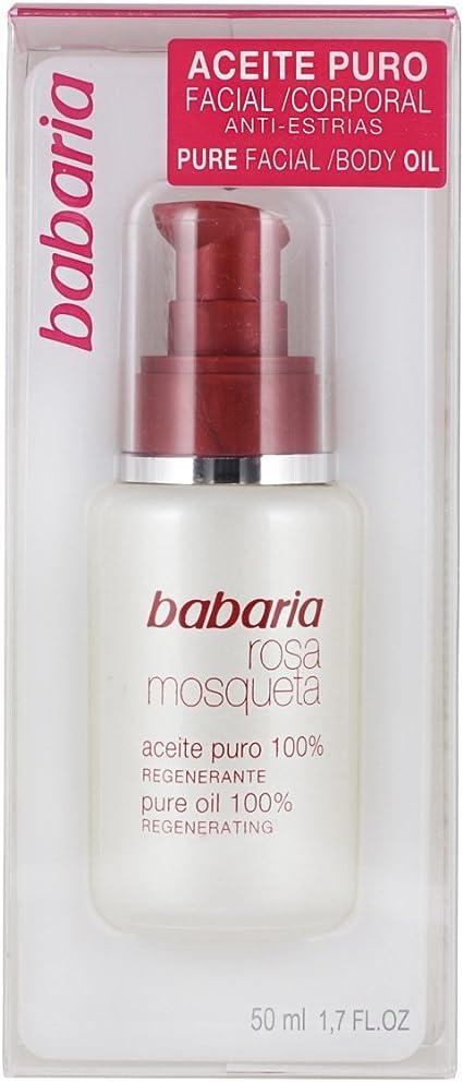 Babaria Rosa Mosqueta Aceite Puro Facial 50 Ml Amazon Es Belleza