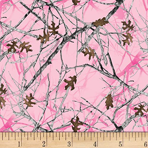 David Textiles True Timber Conceal Camo Pink Fabric by The - Fabric Pink Camo