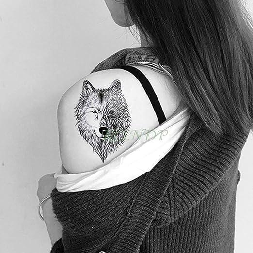 ljmljm 3 Unids Impermeable Etiqueta Engomada del Tatuaje Animal ...