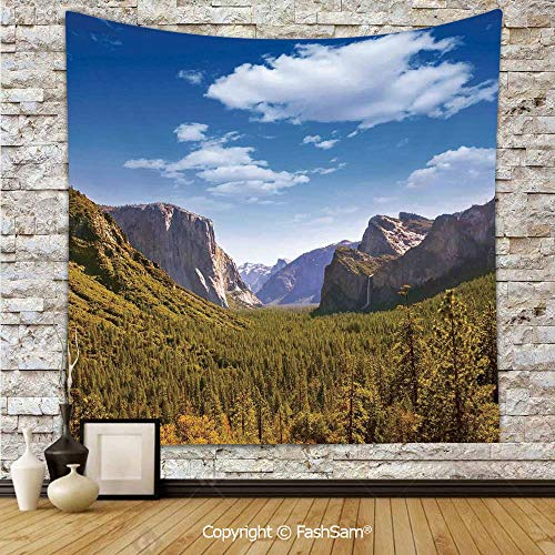 FashSam Tapestry Wall Blanket Wall Decor Yosemite El