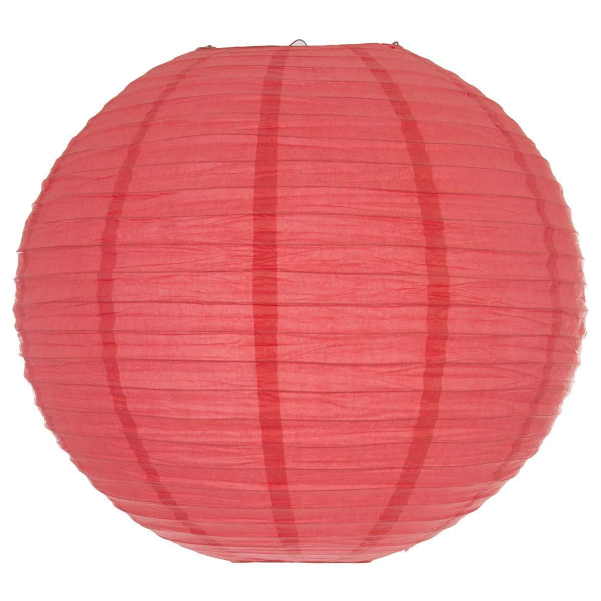 Atmosphera - Lanterne Boule uni Rose D60