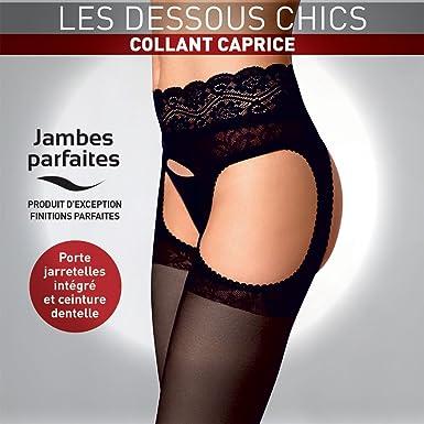 Le Bourget - Collant Le Bourget CAPRICE noir - 1  Amazon.fr ... d167963d29d