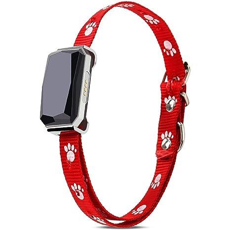 Mini GPS rastreador de mascotas, rastreador inteligente GPS para perro, gatos, dispositivo de