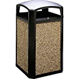50 gal rubbermaid container - Rubbermaid Commercial Products FG397500BLA Landmark Classic Container, 50 gal
