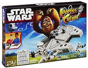 Hasbro B2354100 - Star Wars Looping Chewie, Partyspiel