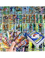 Pokemon-kaarten, Pokemonkaarten GX Vmax verzamelkaarten, Pokemon-kaarten zeldzame energiekaarten