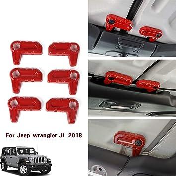 Carbon Fiber 11PCS JeCar JL Accessories Interior Decoration Trim Kit Trim for 2018 Jeep Wrangler JL /& Unlimited