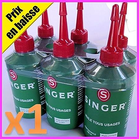 Singer especial aceite lubricante para máquina de coser & enhebra ...