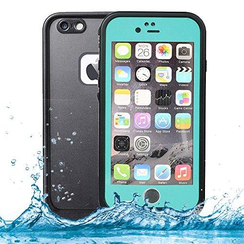 iPhone 6 Waterproof Case,iPhone 6S Waterproof Case,Goton IP68 Certified Full Case Protective Waterproof Case for iPhone 6/6S 4.7 Inch - (Teal)