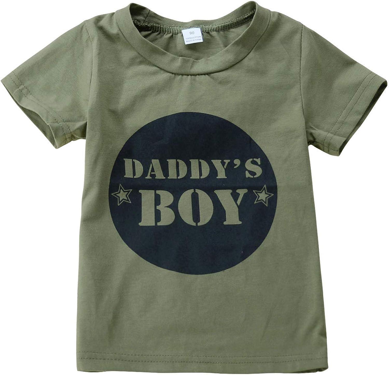 Jurebecia Newborn Baby Boy Clothes Camo Short Sleeve T-Shirt+Long Pants Outfit Clothes Set