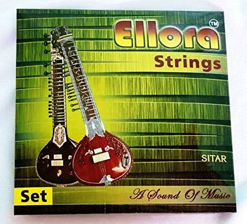 SITAR STRING COMPLETE SET WITH SYMPATATIC STRINGS SWA001 by Sitar World