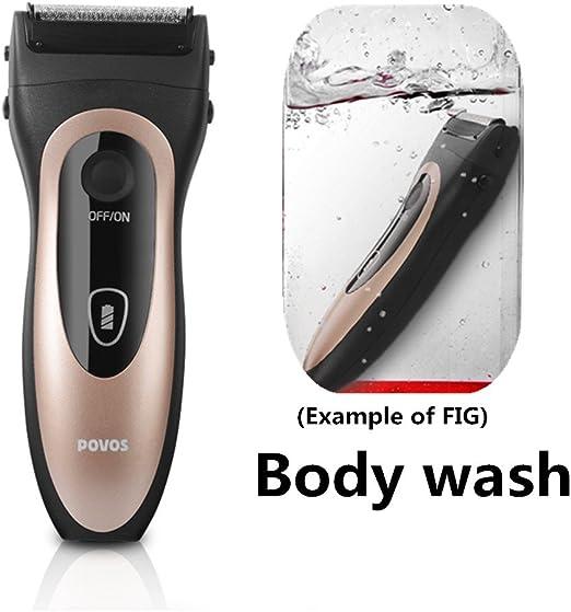Afeitadora eléctrica de alta definición lavable afeitadora xagoo ...
