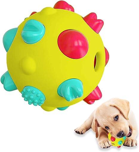 Juguete Interactivo Perro,Juguete para Perro con Sonido,Productos para Mascotas Perros,Juguetes morder Perros,Entrenamiento y Ejercicio en Exteriores Juguetes Perro Masticar para Todo Tipo de Perros.