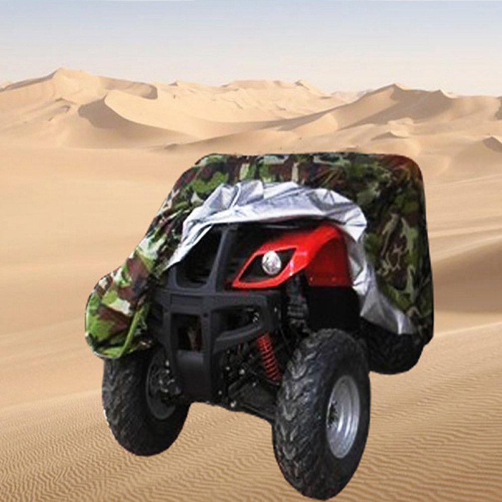 Hersent迷彩防水ATVカバー、頑丈耐久性ユニバーサル防水wind-proof UV保護for most Quads hzc13 B07B9SBS1Z XL:83