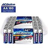 ACDelco Super Alkaline AA Batteries 100-Count