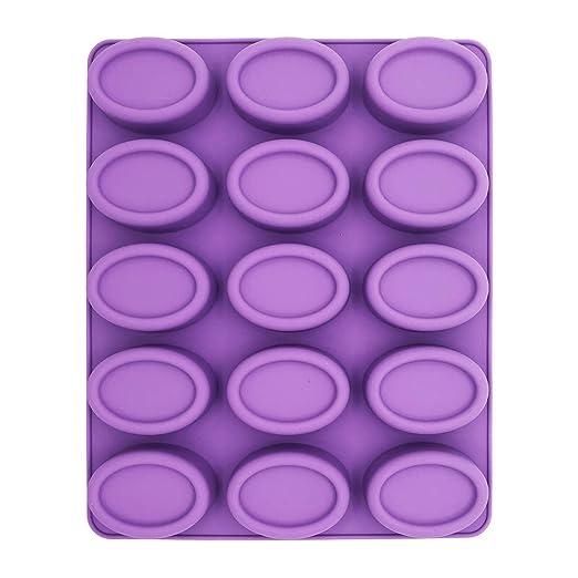 Molde de silicona para jabón, molde para mousse, molde cilíndrico ...
