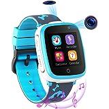 Reloj Inteligente para Niños de 2 Cámaras con Juegos de Música - 1.54 Pantalla Táctil en Color SOS Relojes Inteligentes…