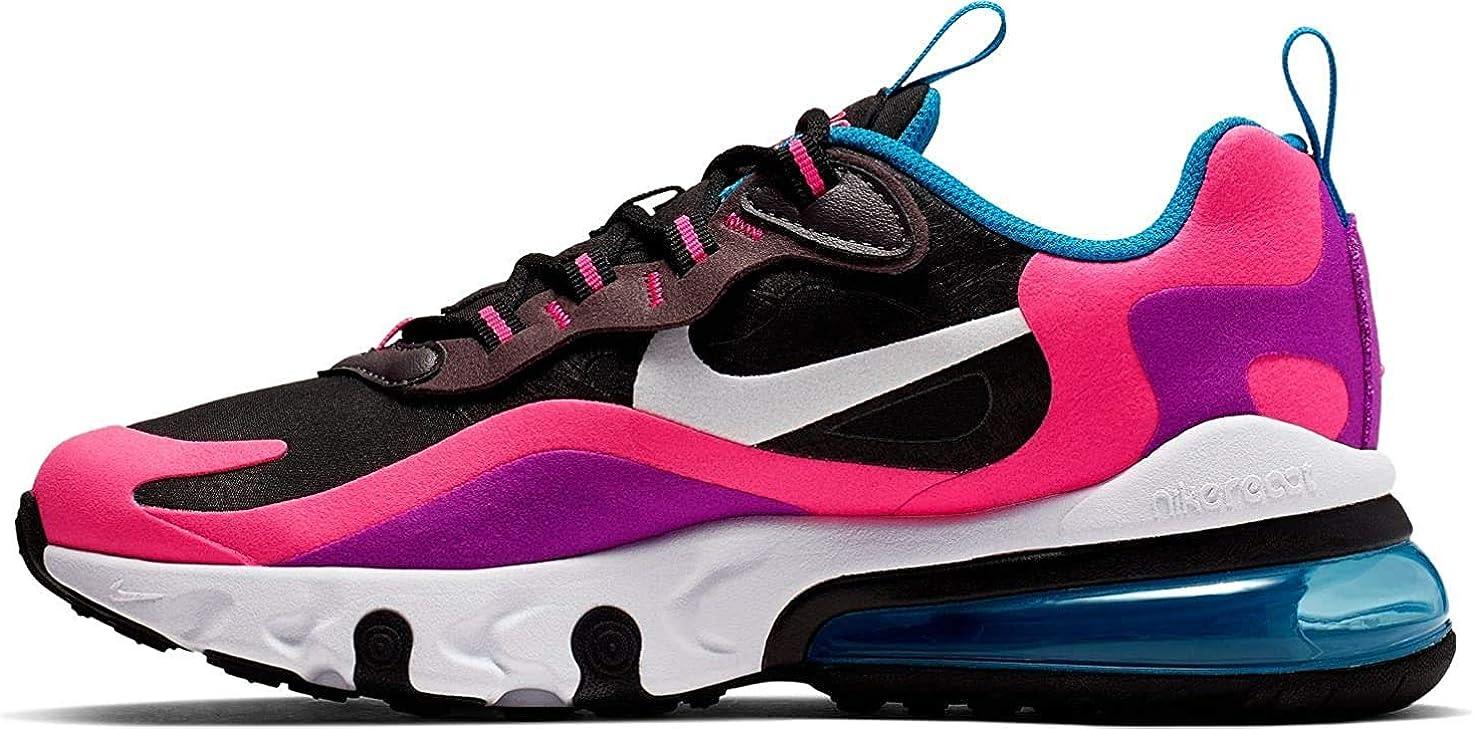Nike Air Max 270 React Junior Noir Bq0101-001