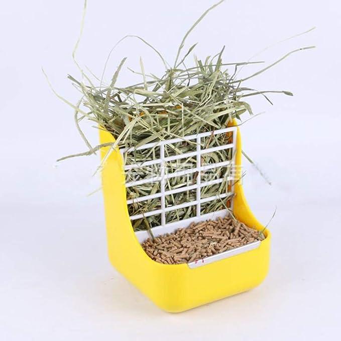 MINGZE Alimentador de heno para Conejo, para Chinchillas, Grandes ...