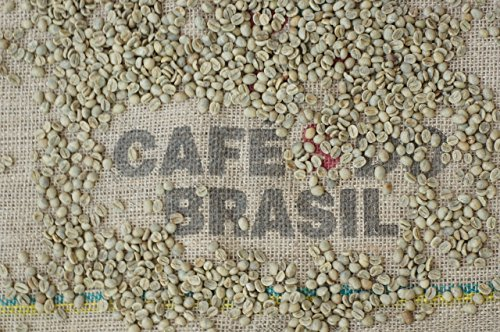 Timrow Traders Unroasted Green Coffee Beans - Brazil Cerrado - 5 LB