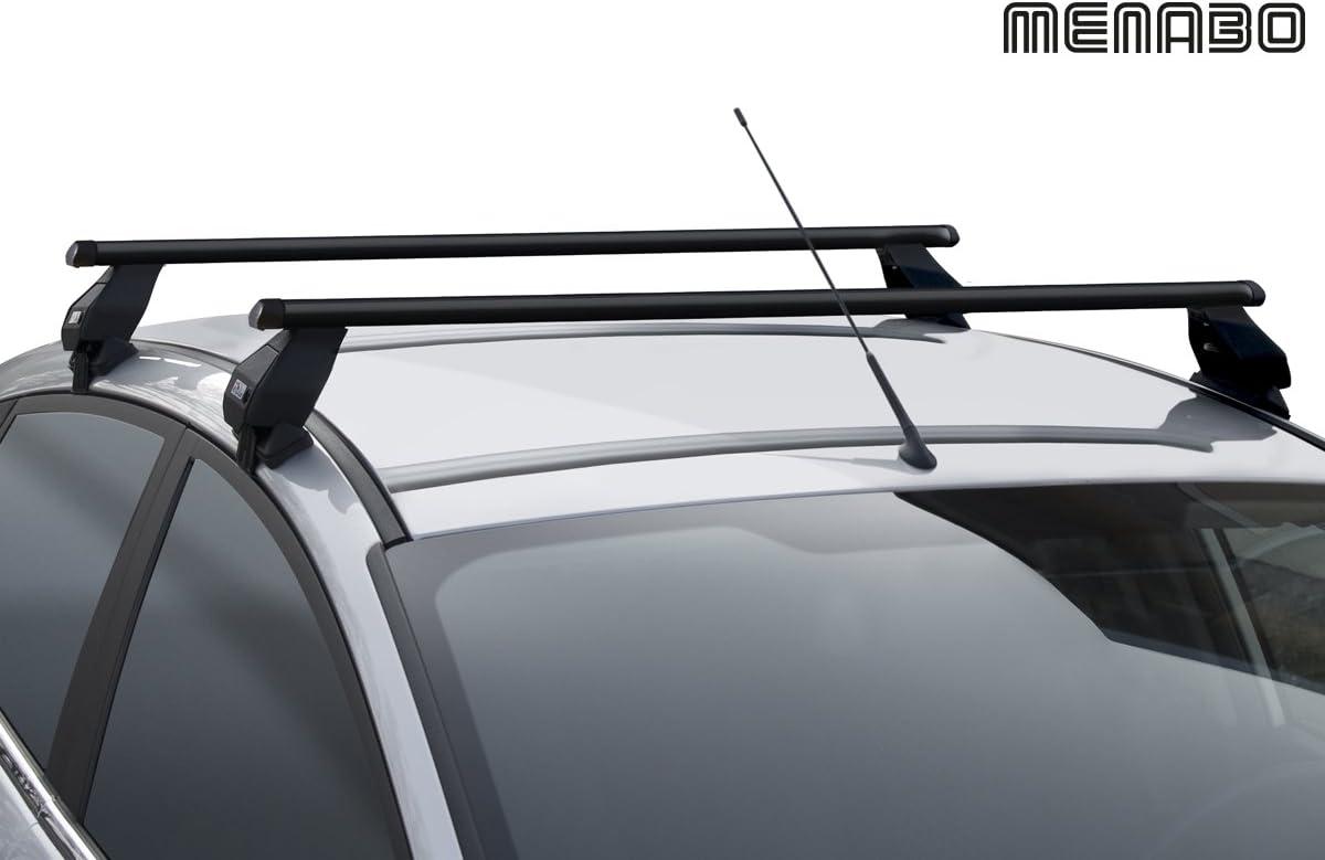 TEMA MENABO Barres de Toit Railing Th/ème Toyota c-HR 5/Portes /à partir de 2016