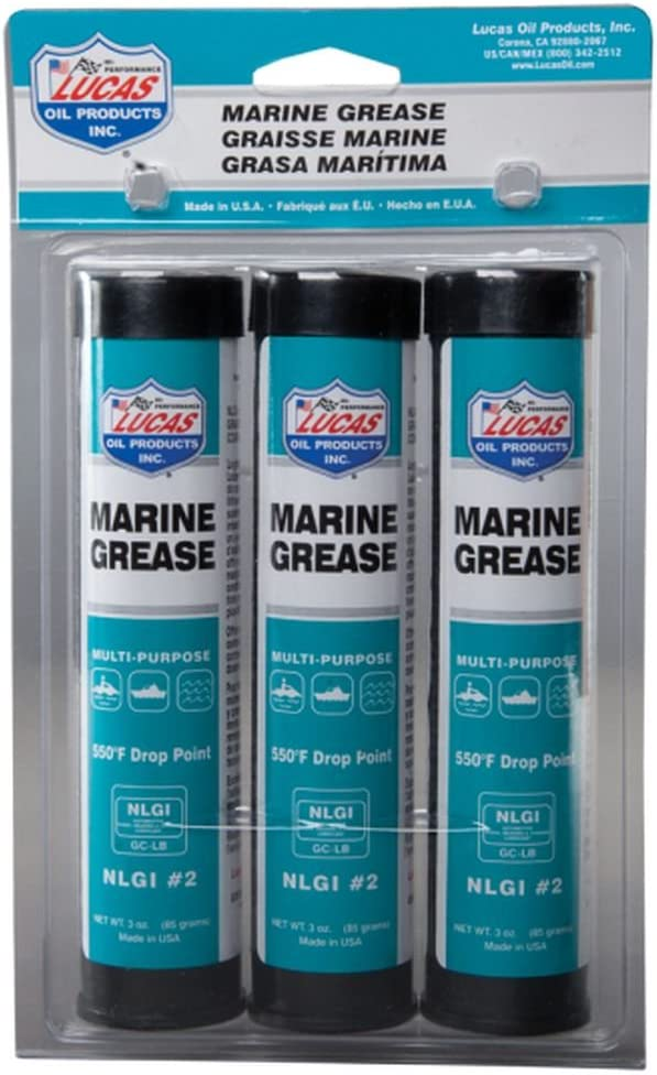 Lucas Oil 10682 Marine Grease - 3 oz (Pack of 3)