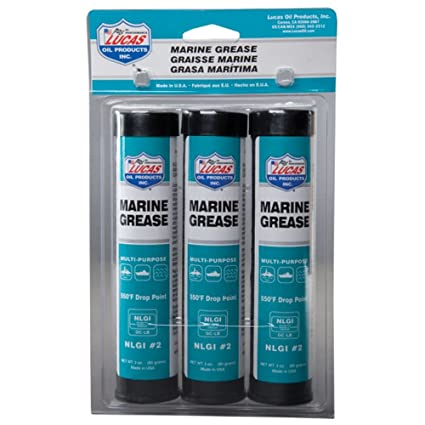 Lucas Oil 10682 Marine Grease - 3 oz (Pack of 3)