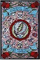"BeWild Brand® - 3D Grateful Dead Mexicali Skulls Tapestry 60 x 90"""
