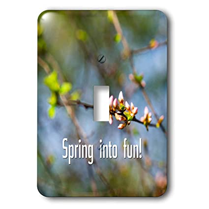 dd47bfdaf0f 3dRose Alexis Design - Sayings about Spring - Spring into fun and pink buds  of a