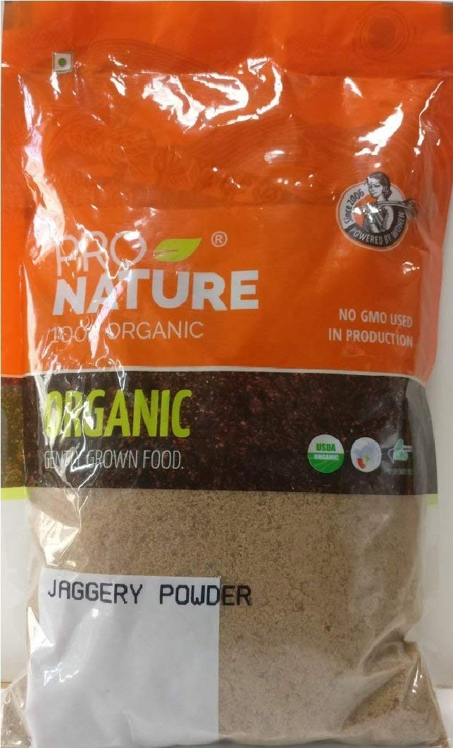Pro Nature 100% Organic Jaggery Powder, 400 g by Hindustan Mart
