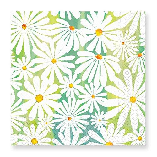 Daisy Design Paper (Daisy Garden Luncheon Napkins)