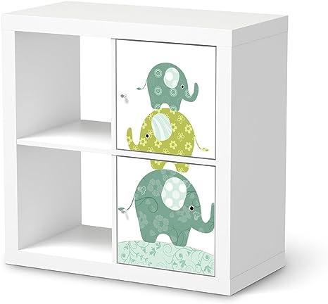 Muebles-tatuaje para IKEA kallax estanterías 2 elementos de ...